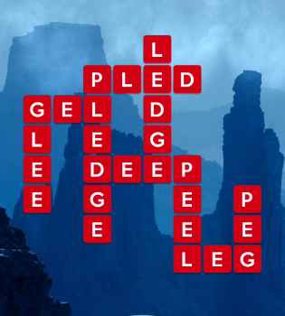 Wordscapes Canyon Cliff Answers Level 129 144 Wordscapes Reveal